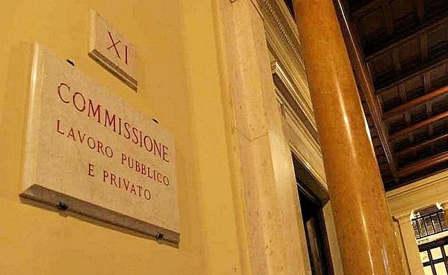 targa XI Commissione lavoro camera dei deputati