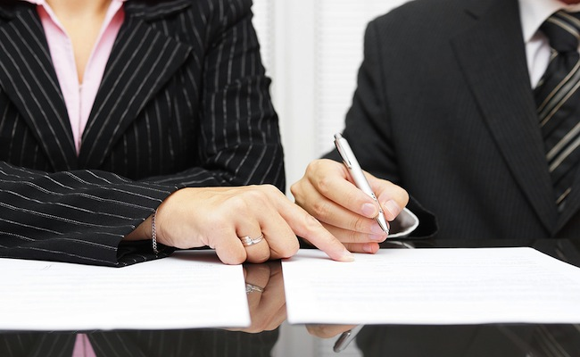 firma contratto di appalto