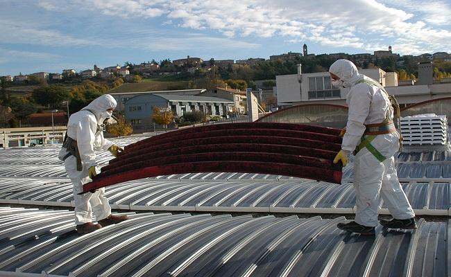 lavori in quota per amianto