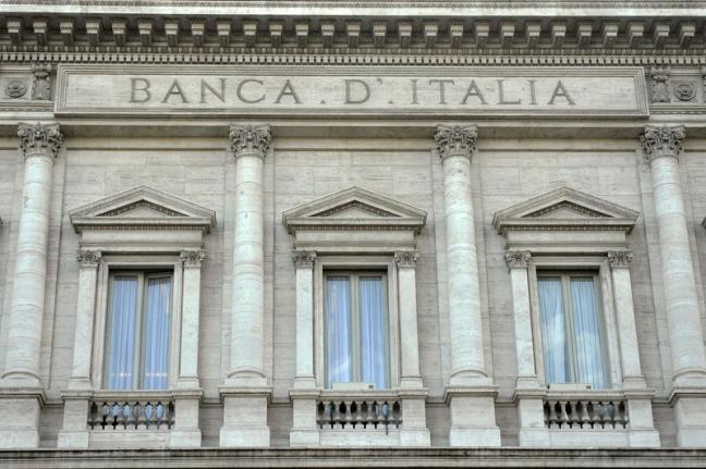 facciata banca italia