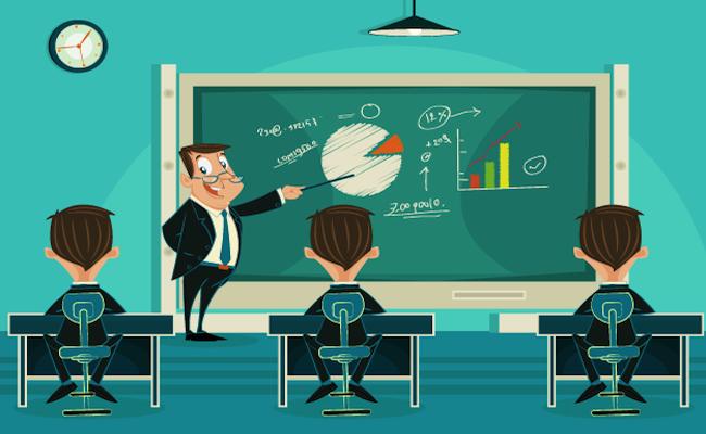 aula formazione con studenti