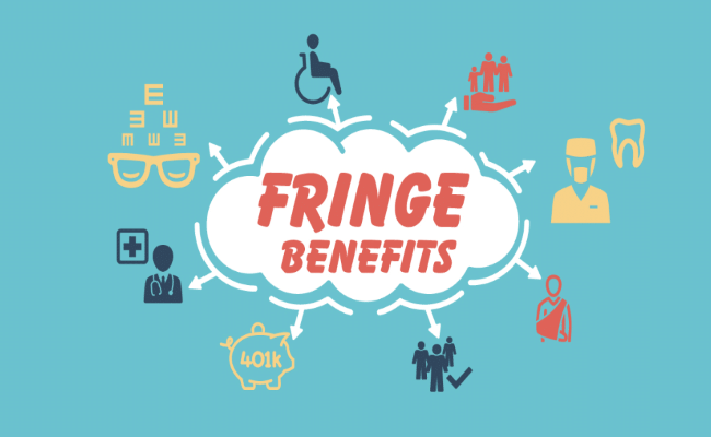 grafica fringe benefits