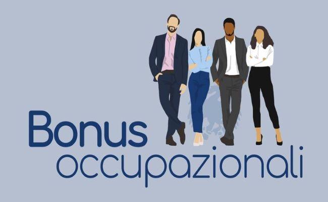 grafica bonus occupazionali
