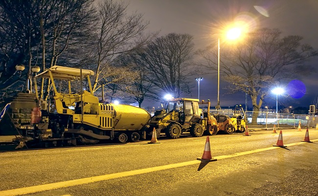 manutenzione notturna manto stradale