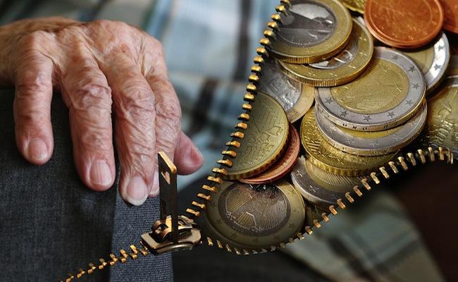 pensione in euro