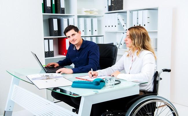 disabile a lavoro