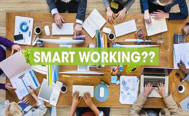 grafica smart working