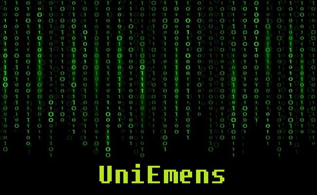 grafica codici uniemens