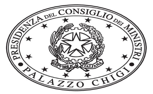 logo presidenza del consiglio dei ministri